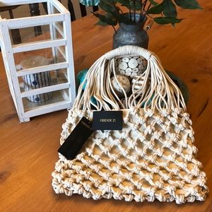 Crocheted Forever 21 Purse
